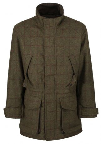 Blenheim Wool Blend Tweed Shooting Jacket Coat Traditional Tailored Quality New